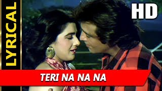 Teri Na Na Na With Lyrics | Kumar Sanu, Alka Yagnik | C.I.D.
