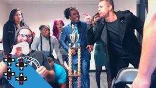 Seth Rollins' SAVAGE burn on The Miz — UpUpDownDown
