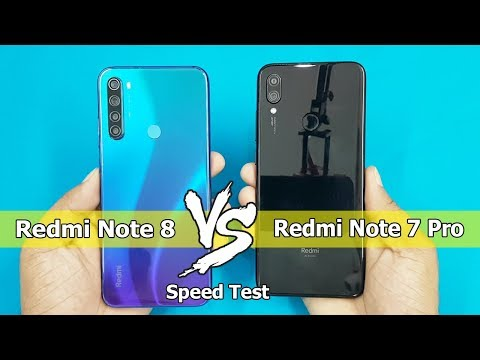 Redmi Note 8 vs Redmi Note 7 Pro Speed Test | Comparison || Antutu Bench Mark Scores