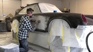 Block Sanding a Porsche 911