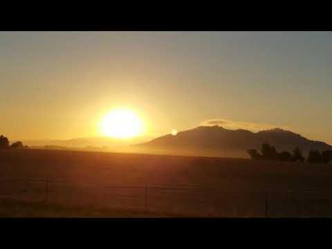 OREGON SUMMER SOLSTICE SUNSET