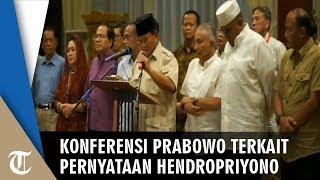 Prabowo Sebut Pernyataan Hendropriyono Berpotensi Pecah Belah antar Anak Bangsa: Kami Prihatin
