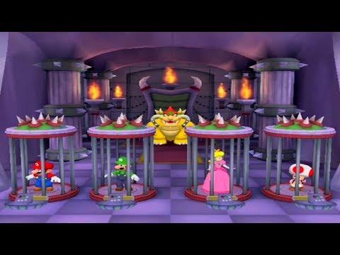 Mario Party 5 - All Survival Minigames - Mario vs Luigi vs Toad vs Peach