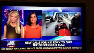 Kid Rock - Epic Response To Denounce The Confederate Flag Fox News Megyn Kelly