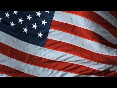 USA Flag 5 minute loop