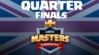 [ENG] Coltonw83 vs JoseLC - CLASH ROYALE - Gamergy Masters - Quarter Finals