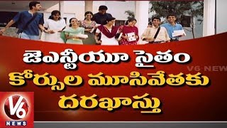 Students Shows Not Interest To Study Engineering, Over 150 Colleges Shut Down In Telangana   V6 News