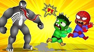Download Video Superman vs Venom Vs Spiderman vs Hulk vs Mickey mouse Gummy Bear vs Gorilla Finger Family Rhyme MP3 3GP MP4