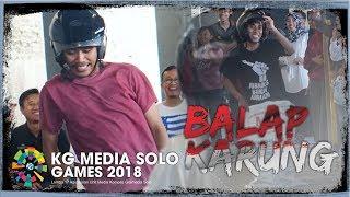 KG MEDIA SOLO - Lomba Balap Karung Pakai Helm
