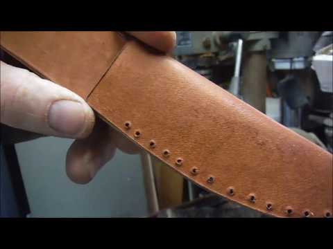A Simple Knife Sheath With No Leather Working Tools. Mp3