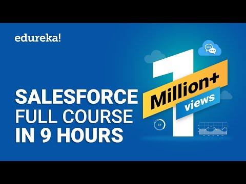 Salesforce Full Course - Learn Salesforce in 9 Hours | Salesforce ...