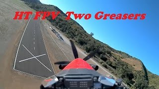 Headtracking FPV 2 Wheelie Landings FMS PC-21