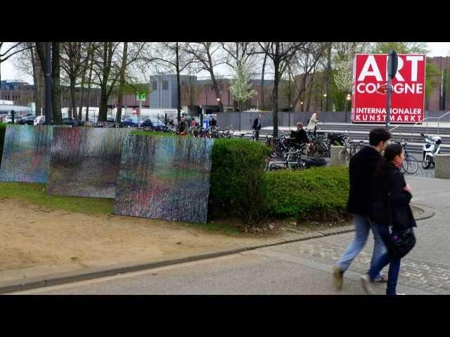 Video, David Komander, 2013, Art Cologne