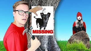 Video Our Dog Is Missing!  (New Clues Found at Hacker Mansion) Game Master Rescue MP3, 3GP, MP4, WEBM, AVI, FLV Agustus 2019