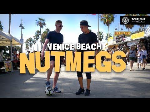 Gabriel Jesus & Kevin De Bruyne Nutmeg Strangers In LA!