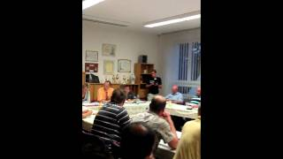 preview picture of video 'Gemeinderatssitzung Abwasser Trossin'