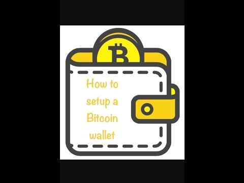 How to setup a bitcoin wallet (short version)       Bitcoin wallet tutorial