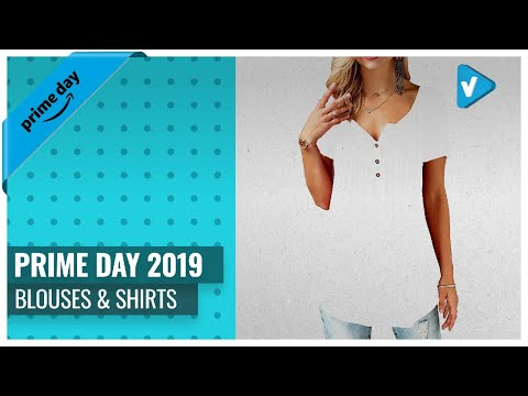 Save Big On Women's Blouses & Shirts | Prime Day Deals 2019