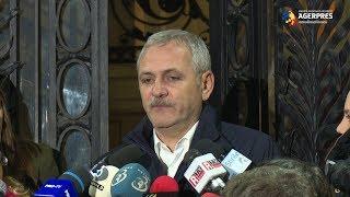 Dragnea, întrebat dacă din Guvern vor face parte și membri PSD cercetați penal: Da