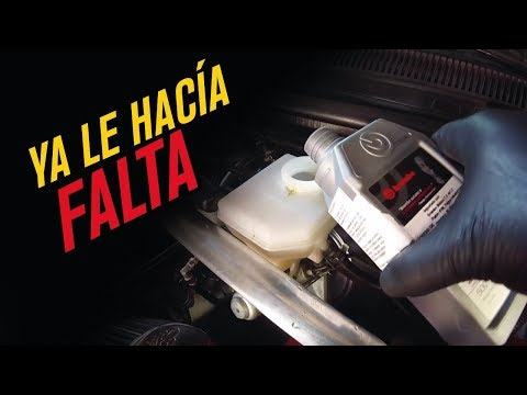 Como cambiar y purgar liquido de frenos // DIY BRAKE FLUID BRUSH