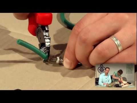 Kabel löten und reparieren