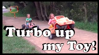 Turbo up my Toy – Repurposing a toy car - Make Science Fun