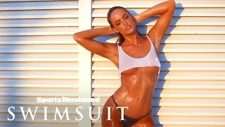 Haley Kalil Takes Wet T-Shirt To The Next Level In Debut | Intimates | Sports Illustrated Swimsuit