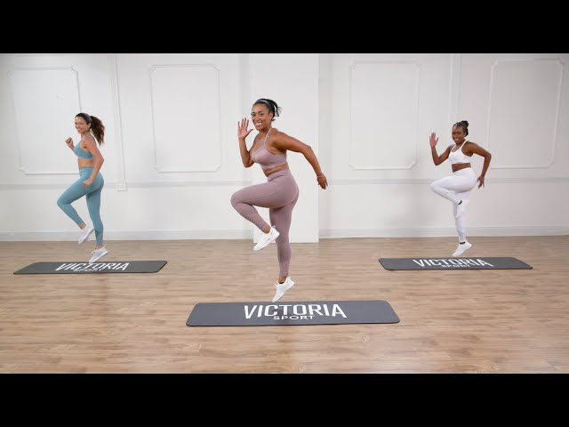 25-Minute Victoria Sport High Impact Cardio & Lower Body Workout