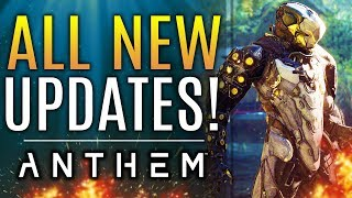 Anthem - NEW INFO!  Big Patch! EA Responds PS4's Breaking!  Banned Players Update!