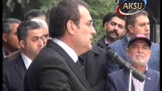 preview picture of video 'Kahramanmaraş'ta Şiirin Başkenti temasıyla düzenlenen 1. Kitap Fuarı Açılış Konuşması - Mahir Ünal'