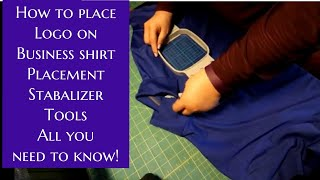 How To Embroidery A Logo On A Business Shirt