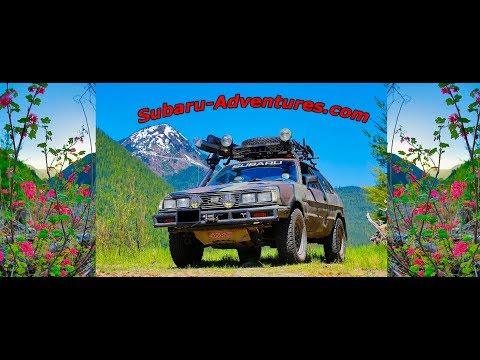 84' Subaru GL | Canyon Creek - Snoqualmie National Forest | Subaru-Adventures.com