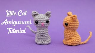 Little Cat Amigurumi - Crochet Tutorial