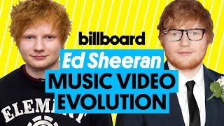 Ed Sheeran Music Video Evolution: 'Open Your Ears' to 'Happier' | Billboard