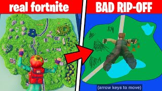 i played BAD Fortnite RIP-OFFS until Season 2 comes out
