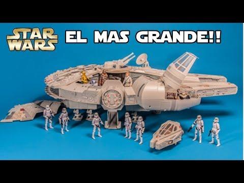 El Halcon Milenario mas grande Hasbro - Star wars