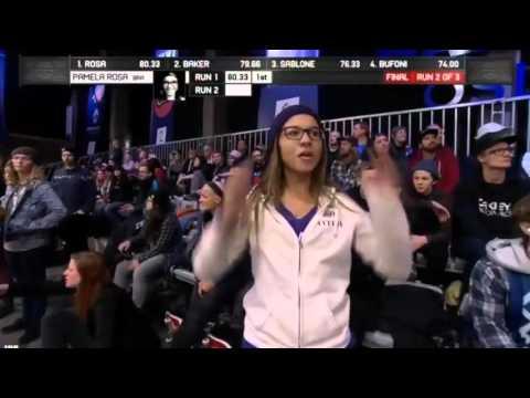 X GAMES PAMELA ROSA WOMEN ´S WINS