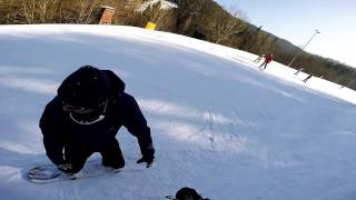 preview picture of video 'snowBoArding Semmering'