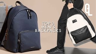 TOP 3 MENS BACKPACKS: BURBERRY, COACH, HERSCHEL | Georgeous