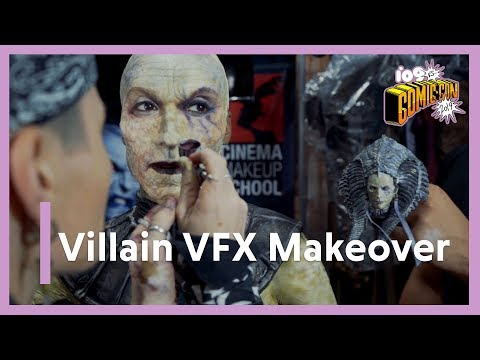 SDCC 2019   Watch This Villainous Makeup Transformation