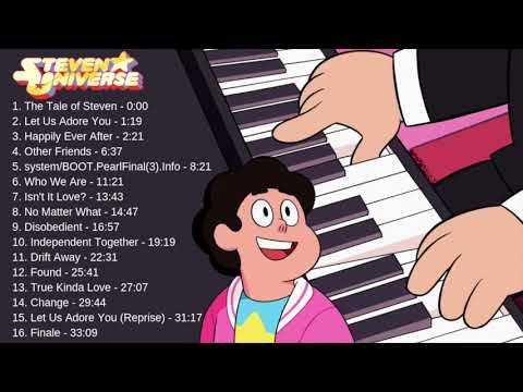 Steven Universe: The Movie - All Songs | Relaxing Piano Music