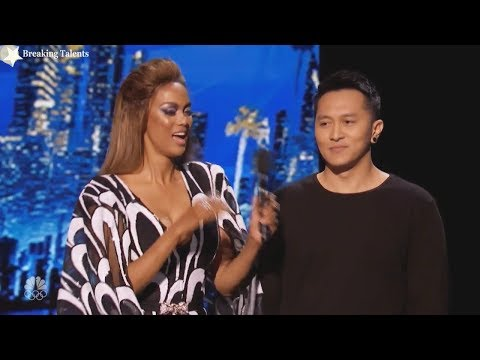Damian Aditya  Judges Squabble and Comments as Something Went Wrong Quarter Finals AGT 2017 Live (видео)