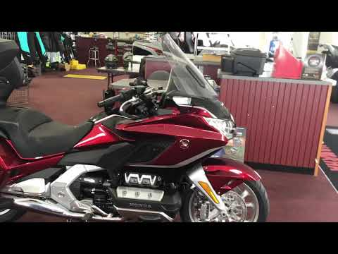 2021 Honda Gold Wing Tour Automatic DCT in Belle Plaine, Minnesota - Video 1