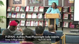 P-SPAN #626: Novelist Judy Juanita at Laney College Library