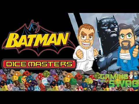 Batman Dice Masters Unboxing and Review