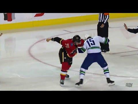 Micheal Ferland vs. Derek Dorsett