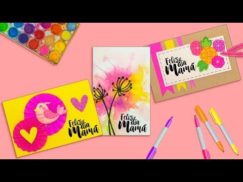 DIY: Las tarjetas de felicitación MAS LINDAS - DÍA DE LAS MADRES
