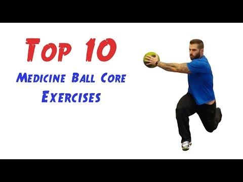 Video Top 10 Medicine Ball Core Exercises