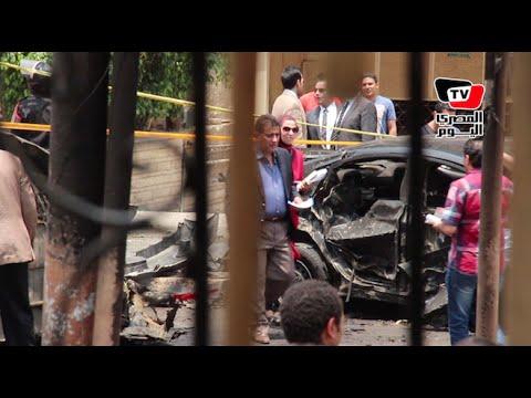 «القصة الكاملة» لتفجير موكب النائب العام يرويها شهود العيان