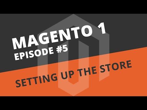 Magento Beginner Tutorials - 05 First time setup on a fresh install